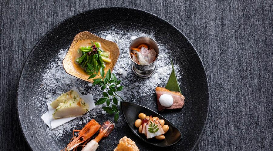 旬の味と郷土料理「もりの風茶寮」 お食事 写真